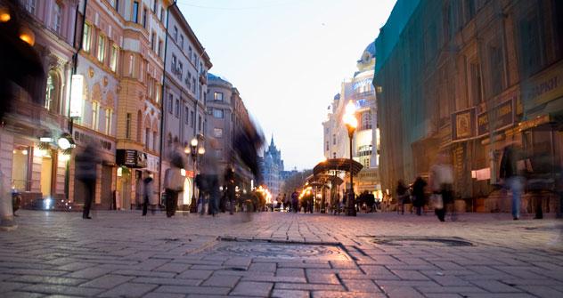 モスクワのアルバート通り=GeoPhoto撮影