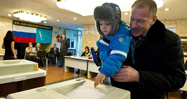 今日は下院選挙である=ロシア通信撮影