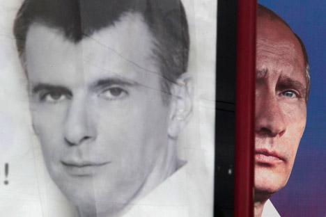 Putin oder Anti-Putin? Foto: AP