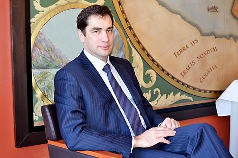 Stellvertretende Leiter der Föderalen Tourismus-Agentur Russlands Evgeny Pisarewskij. Foto: Olga Vaulina