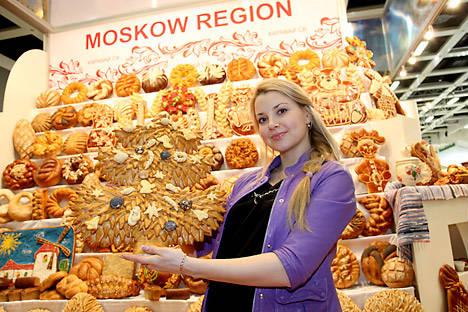 Aufwändig verzierte Backwaren in der Region Moskau. Foto: IGW 2012 - Russland