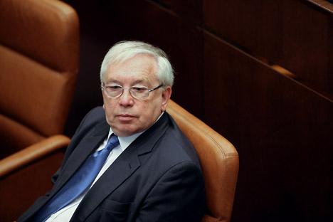 Russlands Bevollmächtigter für Menschenrechte Wladimir Lukin. Foto: Iliya Pitalev/RIA Novosti
