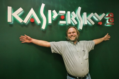 Virenschutz-Entwickler Jewgenij Kaspersky. Foto: Ruslan Krivobok / RIA Novosti
