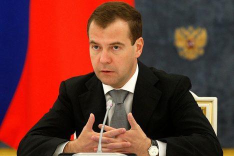Dmitri Medwedjew bleibt russischer Präsident bis zum 7. März. Foto: kremlin.ru