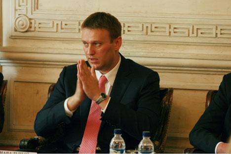 Alexej Navalny ist einer der bekanntesten Blogger Russlands. Foto: Navalny.ru