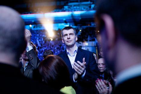 Michail Prochorow. Foto: mdp2012.ru