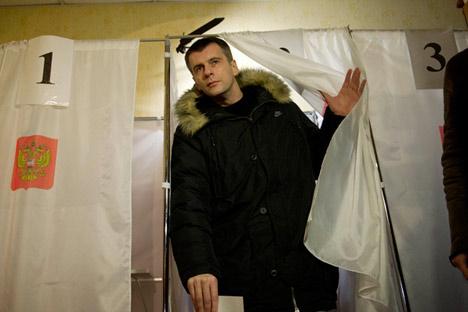 Michail Prochorow wurde zum populärsten rechten Politiker in Russland. Foto: mdp2012.ru