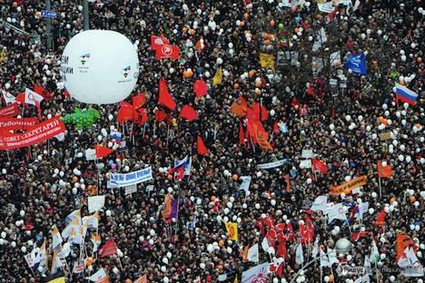 Proteste in Moskau: was bringen sie? Foto: Witalij Raskalow/Ridus
