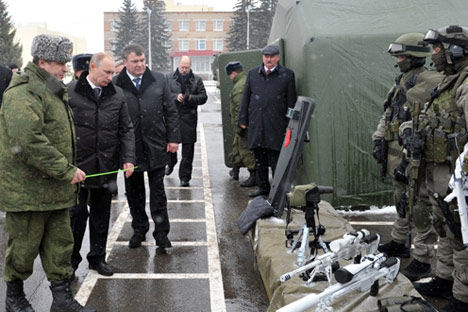 583 Milliarden Euro will Russland im Laufe des kommenden Jahrzehnts in Streitkräfte und Rüstungsindustrie investieren. Foto: http://premier.gov.ru/