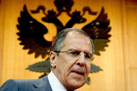Russischer Außenminister Sergej Lawrow. Foto: Reuters/Vostock Photo