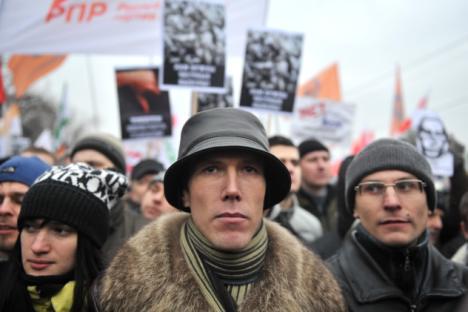 Nicht nur in Moskau, aber auch in anderen Städten wir protestiert. Foto: RIA Novosti