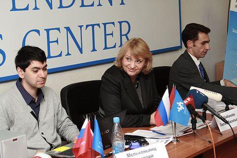 GOLOS bildet auch Beobachter für die kommenden Präsidentschaftswahlen aus.   Foto: Alexander Musin/ GOLOS