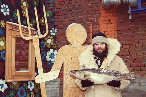 Boris Akimow, einer der Gründer der Öko-Kooperative LavkaLavka. Foto: lavkalavka.ru