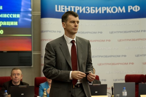 Michail Prochorow. Foto: mdp2012.ru