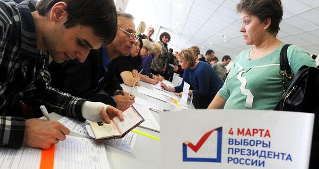 Jeder Bürger Russland kann Beobachter werden. Foto: ITAR-TASS