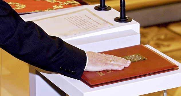 Wer wird nächster den Amtseid leisten? Foto: RIA Novosti