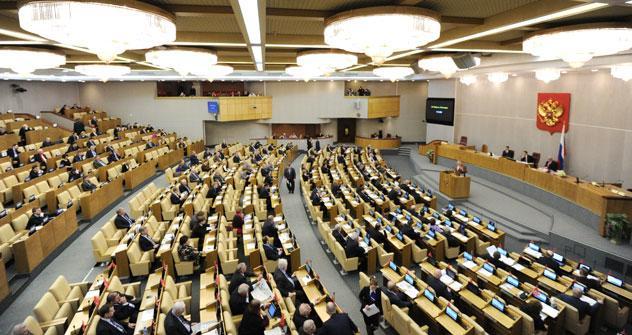 Die russische Staatsduma. Foto: ITAR-TASS