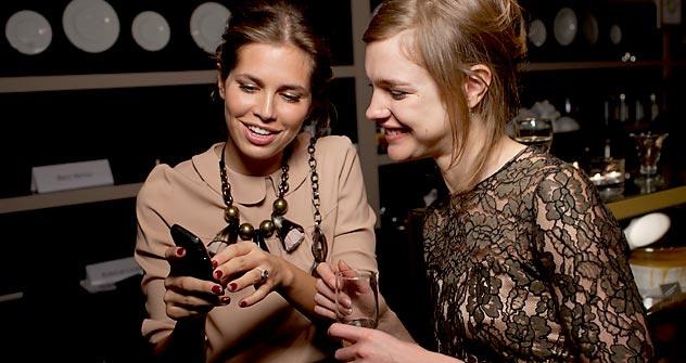 Darja Zhukowa und Natalja Wodjanowa. Foto: Kommersant