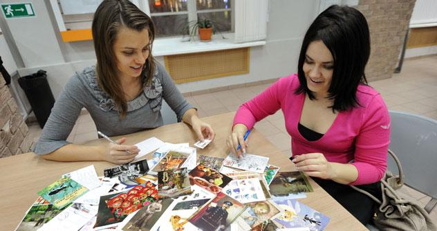 Dank Postcrossing erleben die traditionellen Postkarten die Wiedergeburt. Foto: Swetlana Priwalowa