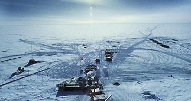 Die Wostok-See Bohrstation. Foto: RIA Novosti