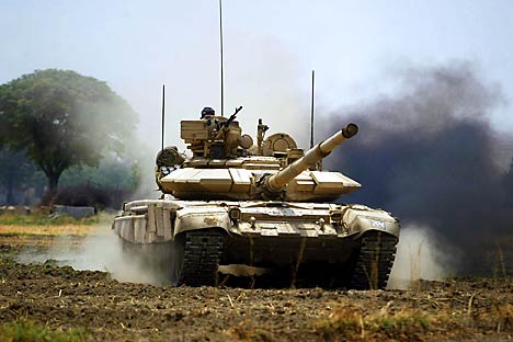 """Meanwhile, in practice, our tanks are better. In Iraq, the famous American ""Abrams"" would stall now and then just because their dust collectors could not cope with their task, while our armored vehicles do not experience such problems in desert cond"