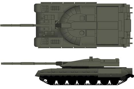Supposed Armata image. Source: btvt.narod.ru