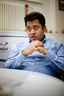 Ravi Sachdeva studied at St.Petersburg's University of Information Technologies, Mechanics and Optics, graduated with EMBA degree from Skolkovo Moscow School of Management, now is Country Director in Meridian Technologies. Photo: Ruslan Sukhushin