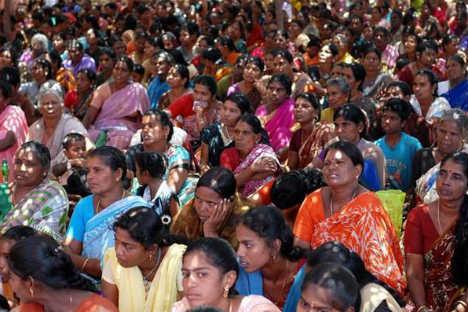Protests against the Kudankulam nuclear power plant