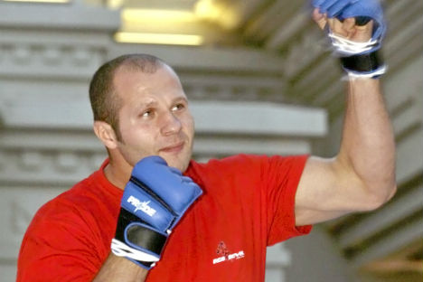 Fedor Emelianenko. Source: en.wikipedia.ru