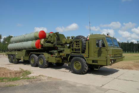The S-500 surface-to-air missile system. Source: Minoboroni