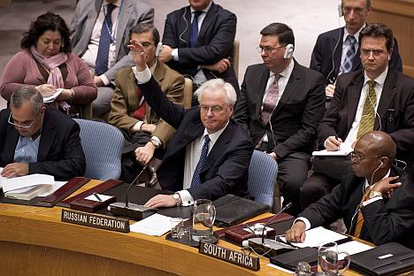 Russia's and China's stance to veto the UN resolution against Syria resulted in more criticism from the West. Source: AFP / East News