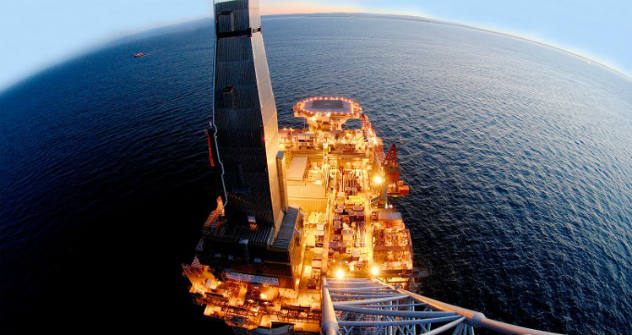Sakhalin II, Russia's first commercial natural gas liquefaction project, with a proprietary natural gas liquefaction process. Source: gazprom.com