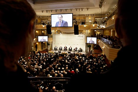 Conferência de Segurança de Munique Foto: AP