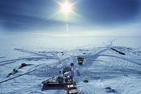 Estação Vostok na Antártida Foto: RIA Nóvosti