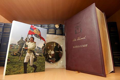 """A seleção é encabeçada por """"Guerra e Paz"""", de Tolstói Foto: Rossiyskaya Gazeta"""