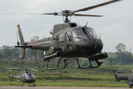 Modelos semelhantes ao AS350 Eurocopter, operado pela aeronáutica brasileira, podem vir a ser usados na Rússia num futuro próximo Foto: Studio Aguia