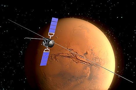Projeto espacial europeu ExoMars Ilustração: ESA