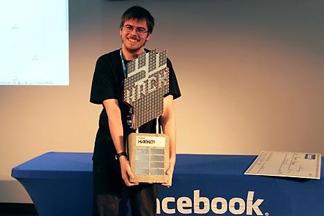 Román Andrêev Foto: Facebook Hacker Cup