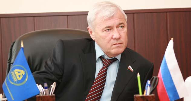 Presidente da Associação de Bancos Regionais, Anatóli Aksakov Foto: asros.ru