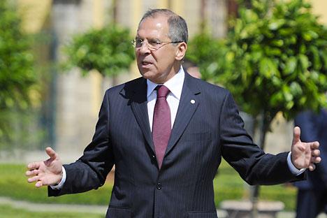 Foto: Serguêi Lavrov, Ministro das Relações Exteriores da Rússia. AFP East News