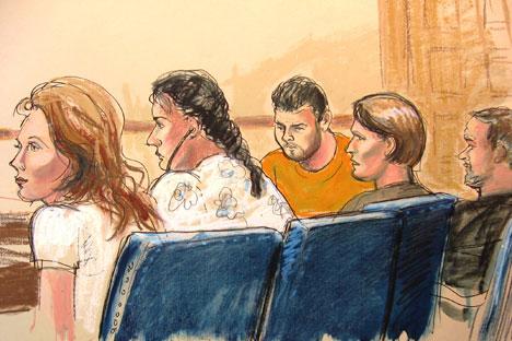 Maior parte dos agentes denunciados por Poteiev, dos quais Anna Chapman foi o caso mais célebre, foram presos no último verão. Foto: AP