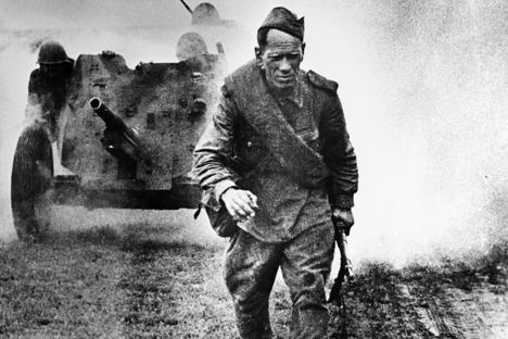 La artillería soviética en ofensiva, año 1943,punto de inflexión en el Frente Oriental