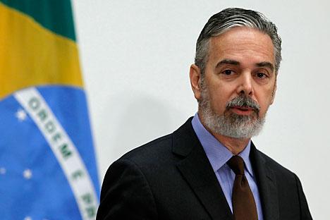 Ministro das Relações Exteriores do Brasil Antônio Patriota. Foto: Reuters