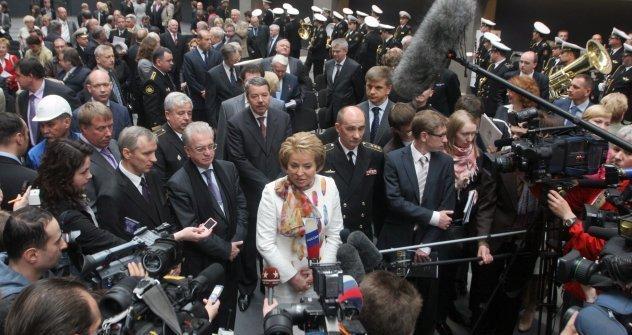 Valentina Matvienko presidente do Conselho da Federação e ex-governadora de São Petersburgo Foto: RIA Nóvosti