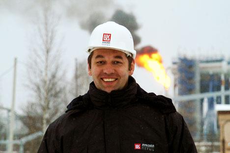 Andrêi Kuziáev, presidente da Lukoil Overseas Foto: TASS