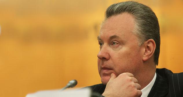 Aleksandr Lukashévitch, porta-voz do ministério russo das Relações Exteriores. Foto: TASS.