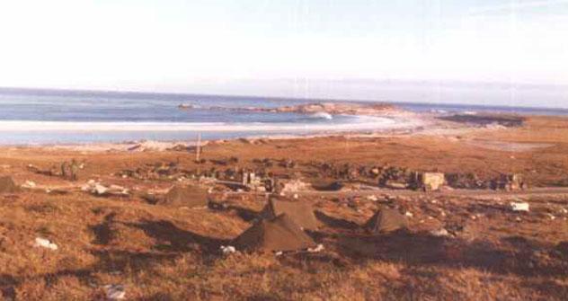 Las islas Malvinas. Foto divulgación