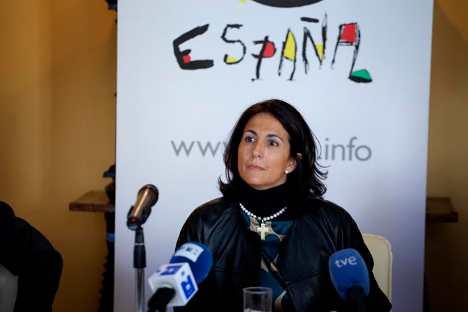 La secretaria de Estado de Turismo de España, Isabel María Borrego Cortés. Foto de Ricardo Marquina Montañana