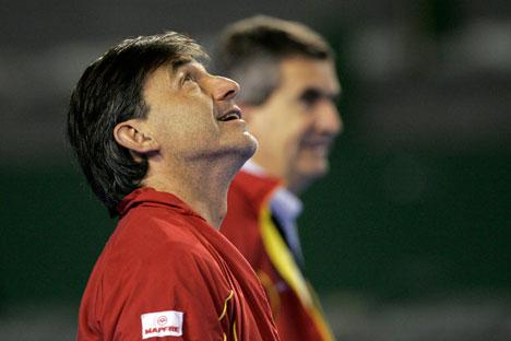 Emilio Sánchez Vicario, foto de AP