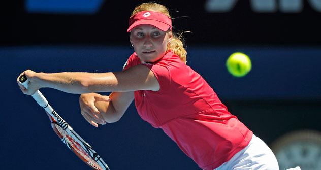 Se espera un duelo fraticida entre Makarova y Sharapova en la semifinal. Foto de AP